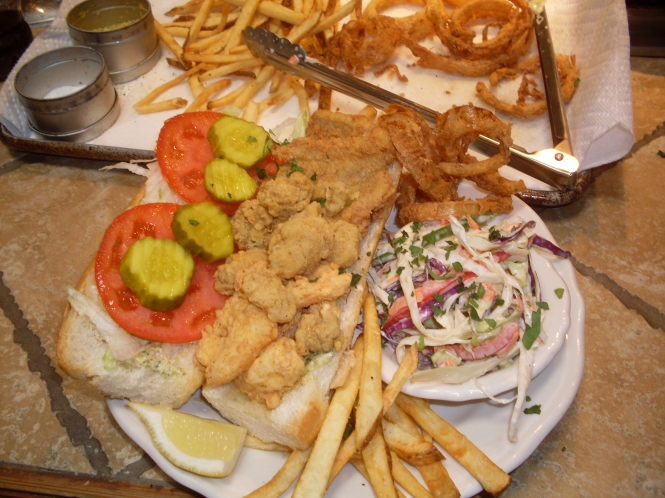 New Orleans Seafood PoBoy